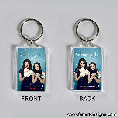 Gilmore Girls: A Year In The Life - Lauren Graham - Alexis Bledel -  Keychain #1