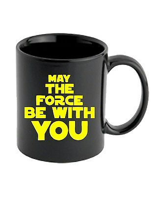 Tazza 11oz TR0093 May The Force Be With You 25mm 1 Pin Button Badge Star Wars Je