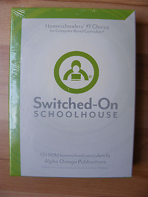 NEW Switched-On Schoolhouse CD-ROM Homeschool Curriculum General Science I 1 SOS