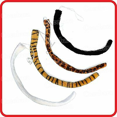 Large Long Animal Tail-Tiger-Leopard-Cat-Dog-Dress Up-Costume-Cosplay-Party