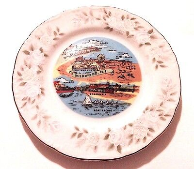 "COLLECTIBLE Wildwood New Jersey 6.25"" Sheffield Plate! FREE SHIPPING!"