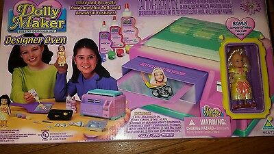 creepy crawlers dolly maker oven set with goop new never used
