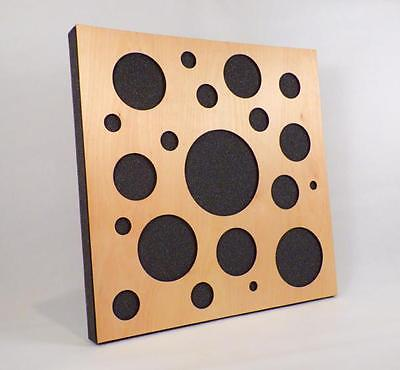 6 X NEW SALE! Oval wood Acoustics panel recording studio  Absorber soundproofing