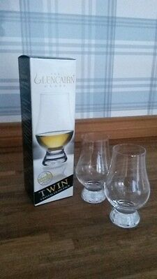 2 Qty  - Glencairn Whisky Tasting - Nosing Glass in a Twin Printed Box