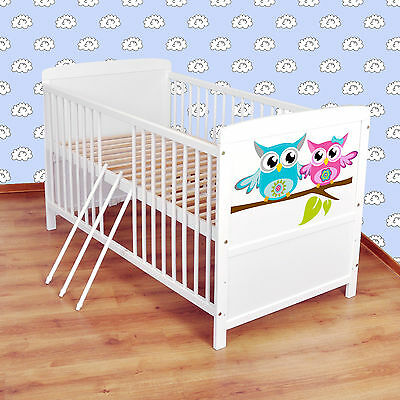 NEW WHITE 2in1  COT-BED 140x70 no 30 - RRP 129,00 GBP