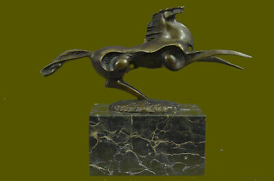 Lost wax Large Abstract Modern Art Horse Bronze Sculpture Statue By Milo Figure