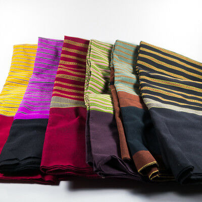 Thai Traditional Cloth Hand Woven Cotton Muang-Pae