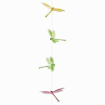 Dragonfly Garland Set - 9 Hand Painted Dragonfly Pieces