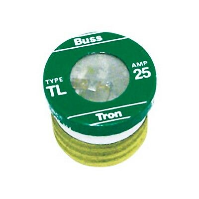 (3 Pack) Cooper Bussmann 25 Amp Fuse #BP/TL-25 New in Package Free Ship
