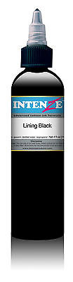 Intenze Lining Black Tattoo Ink 35ml