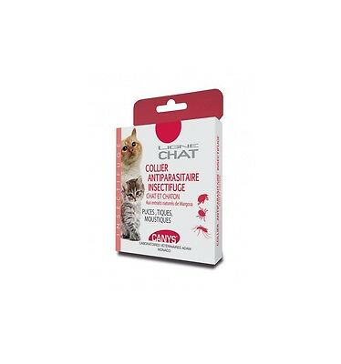 ASEPTACanys Collier Antiparasitaire Insectifuge Chat et Chaton