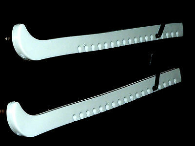 New White Figure Skating Ice Skate Blade Guards - Posted To Your Door 1st Class,