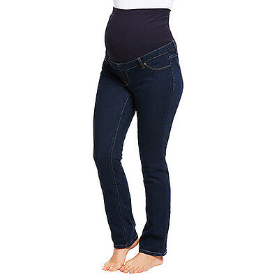 NEW Maternity Straight Leg Jeans - Indigo - Target - Size 14 Pregnancy RRP $40