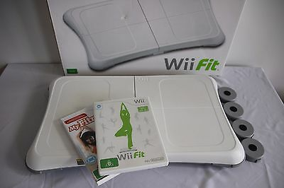 Wii fit balance board with FREE game included