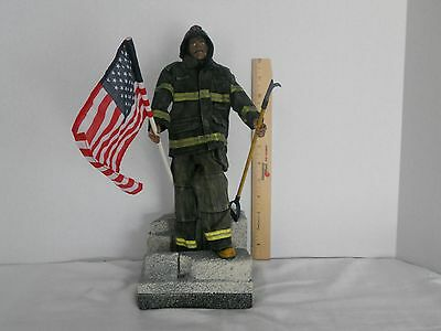 Ultimate Soldier Firefighter with Stand Action Figure 9/11 Commemorative Set