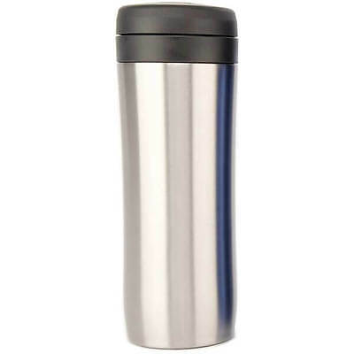 NEW Espro Travel Press 15oz - Brushed Silver Coffee
