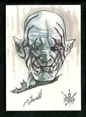 The Hobbit The Battle of the Five Armies 1/1 Fine Art Sketch by Patrick J Hamill