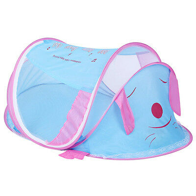 New Baby Mosquito Net Infant Pop Up Sleeping Tent Comfy Summer Folding Crib Cot