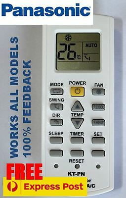 Best quality Panasonic air con conditioner (split system) remote. All models