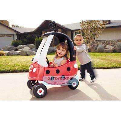 Little Tikes Ladybird Cozy Coupe Ride On Kids Outdoor Activity Car Fun Toy