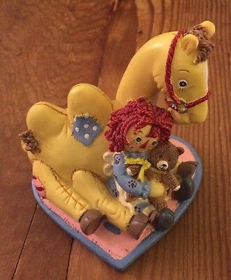 Raggedy Ann And Camel Figure