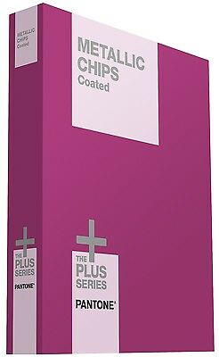 NEW Pantone Metallic Chips Coated GB1507 Pantone Chips Guide Coated Book