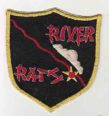 Wartime Thai Made River Rats Patch