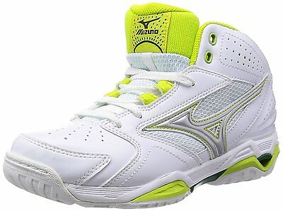 MIZUNO Basketball shoes WAVE PRIDE BB3 Women W1GB1550 White X silver X lime New