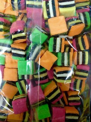 NEW Licorice Allsorts - 1kg Party Supplies Occasion Birthday Christmas