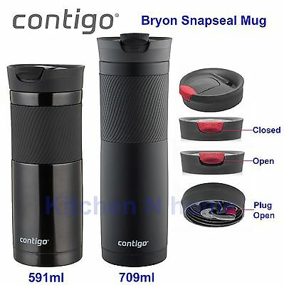 Contigo Byron SNAPSEAL Insulated Travel Mug, coffee mug, Stainless Steel Flask