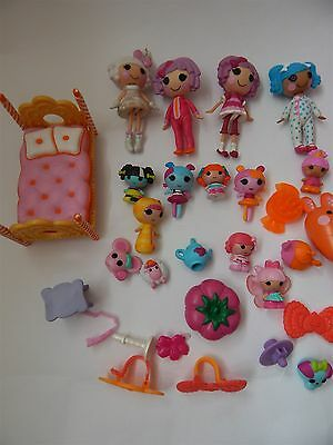 Lalaloopsy 6 Mini Dolls And Pets