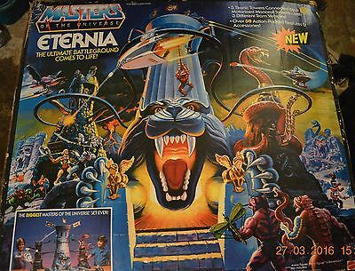 Masters of the UNiverse MOTU Eternia USA 100% Complete