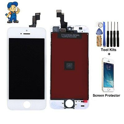 iPhone 5 Screen White Digitizer Touch repair Replacement LCD Display Assembly