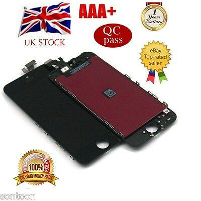 iPhone 5 Screen black Digitizer Touch repair Replacement LCD Display Assembly