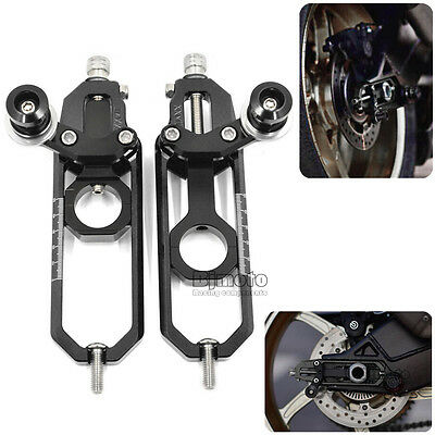CNC Chain Adjusters Tensioner For BMW S1000RR 2009-15 S1000R 2013 2014-15 Black