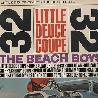 The Beach Boys - 'Little Deuce Coupe' 1963 UK Capitol Stereo LP. VG!