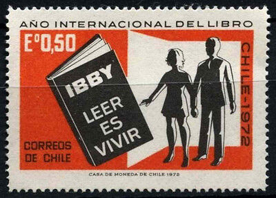 Chile 1972 SG#701 Int. Book Year MNH #D37596