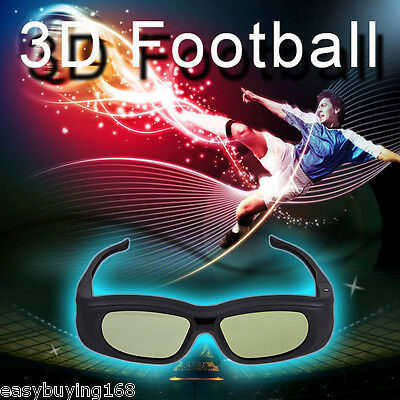 Bluetooth Active Shutter 3D Glasses for Panasonic Samsung Sony TV Rechargeable