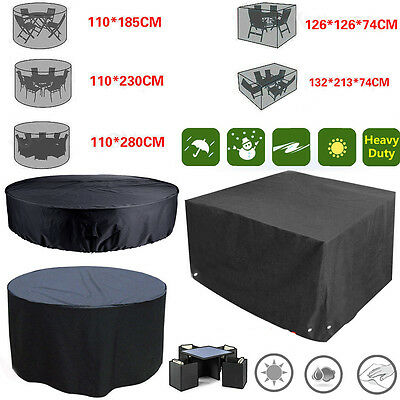 New Waterproof Garden Patio Furniture Set Cover Covers Rattan Table Cube Outdoor