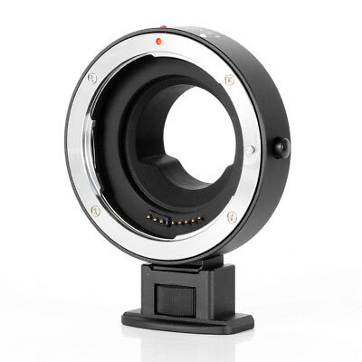 Electronic Adapter Ring EF-MFT F Canon EOS EF-S Lens to Micro 4/3 M4/3 E-M10 GH4
