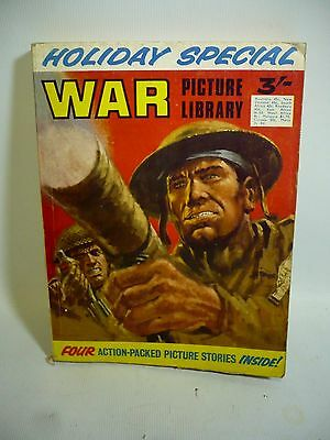 1970 War Picture Library Holiday Special - 4 Long Stories