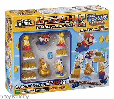 Super Mario Bros Balance World Game Figure Air Stage NEW Style A