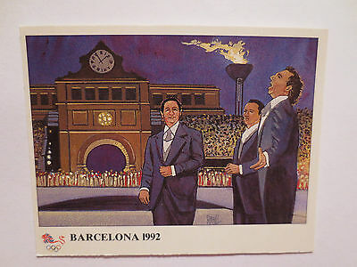 Barcelona 1992 The History Of The Olympic Games Card