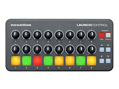 NOVATION Launch Control Superficie di controllo 16 potenziometri e 3 pad