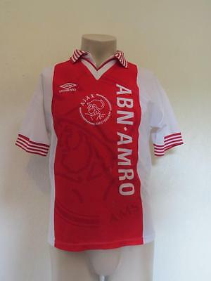 Vintage Ajax 1995-96 home shirt size Y (as worn in the 1996 CL final )