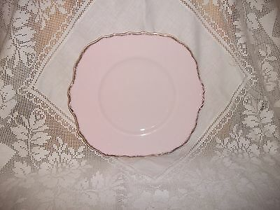 Royal Vale Vintage Palest Baby Pink Afternoon Tea Cake Plate