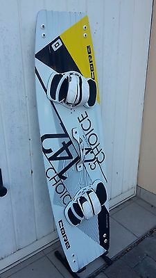 Core CHOICE  Kiteboard carbon freestyle 142 x 42,5 cm  geb.  CHIEMSEE-KINGS