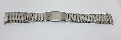 Rare Vintage 19 Mm Zenith Stainless Steel Band Strap Bracelet