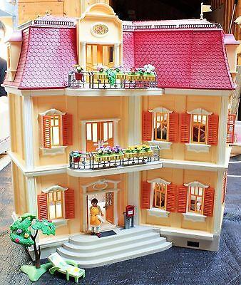 5302 playmobil puppenhaus haus mit einrichtung n he darmstadt eur 179 00 picclick de. Black Bedroom Furniture Sets. Home Design Ideas