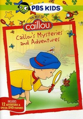 Caillou - Caillou: Caillou's Mysteries and Adventures [New DVD] Full Frame, Subt